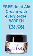 Free Joint Cream With Every Order
