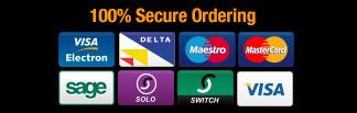 100% Secure Ordering